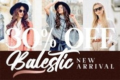 Balestic - Premium Brush Font Product Image 5