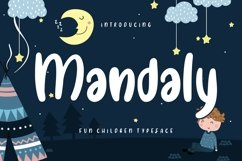 Mandaly Fun Children Typeface Product Image 1