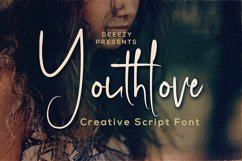 Youthlove Script Font Product Image 1