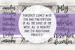 Planner Sticker SVG and PNG Files Product Image 3