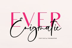 Ever Enigmatic Font Duo Product Image 1