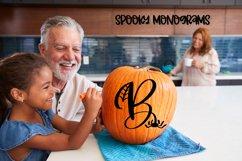 Spooky Monograms - A Halloween Monogram Font Product Image 5
