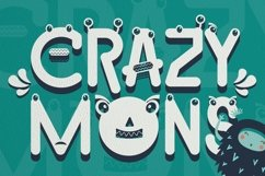 Web Font Holly The Monster Font Product Image 4