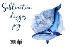 Residents of deep water Sea Style Sublimation Png Product Image 1
