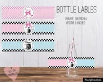 Bows or burnouts, gender reveal printable party Product Image 4