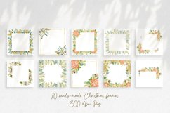 Watercolor Winter frames. Christmas cliparts Product Image 4