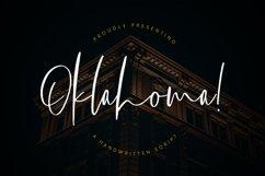 Oklahoma Handwritten Script Product Image 1