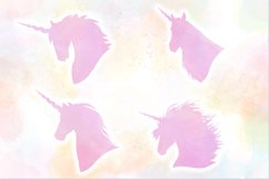 Unicorn Silhouettes SVG Cut Files Pack Product Image 3