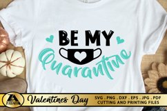 Valentines SVG Covid 2020 SVG Quarantine Valentine's Day SVG Product Image 2