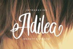 Adilea   Beauty Natrace Script Font Product Image 1