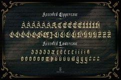 Espada Del Destino | blackletter type Product Image 6