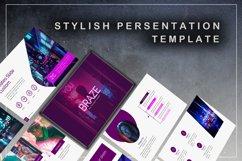Braze Innovative Keynote Template Product Image 4