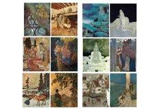 Edmund Dulac Vintage Fairy Tale Images 2 Journal Art PDF Product Image 5