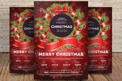 Christmas Winter Party Flyer Template Product Image 1