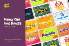 Funny Fancy - Mini Font Bundle Product Image 1