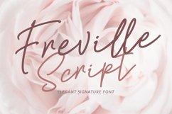 Freville Script Product Image 1