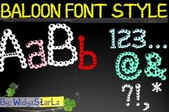 baloon font style Product Image 1