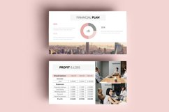 PPT Template   Business Plan - Pink and Marble Product Image 10