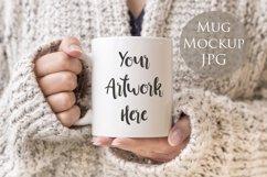 4 Mug Mockups - winter jumpers theme Product Image 2