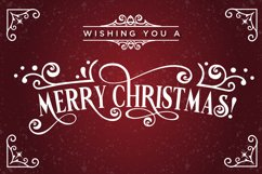 Vondey - Holiday font & ornaments Product Image 2