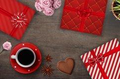 Bows, ribbons and gift boxes set. Product Image 3