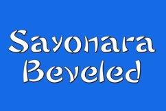 Sayonara Beveled Product Image 1