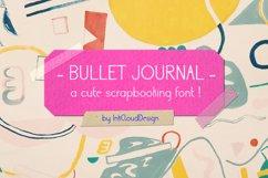Cute Sans Serif Bullet Journal Font | Modern Scrapbooking Product Image 1