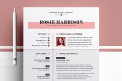Modern Resume Template Product Image 1