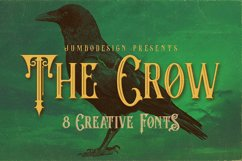 The Crow - Vintage Style Font Product Image 1