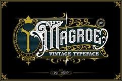 Magroe Vintage Typeface Product Image 1