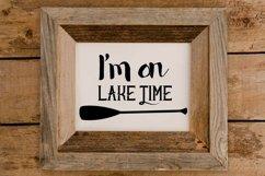 I'm on lake time paddle Product Image 3