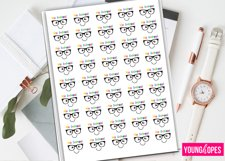 Kawaii Exam Planner Stickers Product Image 1