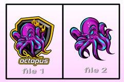 e-sport logo OCTOPUS Product Image 2