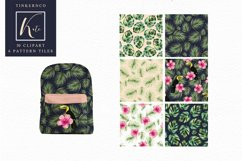 Tropical Travel Fashion Girl for bloggers and planners Product Image 2