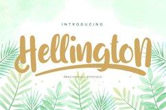 Hellington | Fancy Brush Typeface Product Image 1