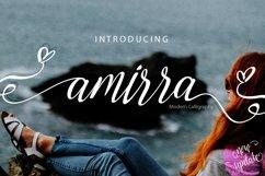 Amirra Script Product Image 1