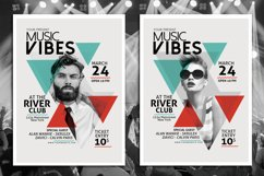 Minimal Music Flyer Template Product Image 1