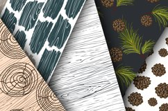 Woods Rhapsody Seamless Patterns Product Image 4