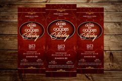 Vintage Party Ticket Template Product Image 4