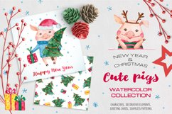 Pig Year Watercolor Collection Product Image 1