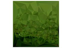 Chlorophyll Green Abstract Low Polygon Background Product Image 1