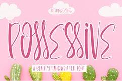 Possessive - Beauty Handwritten Font Product Image 1