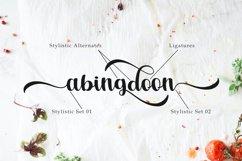 Ashburton | A Calligraphy Font Product Image 3