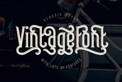 Frizzy vintage font Product Image 6