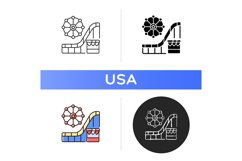 Amusement and theme park icon Product Image 1