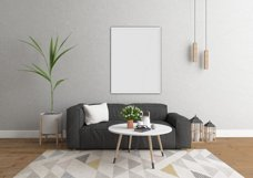 Interior mockup bundle - blank wall mock up Product Image 4