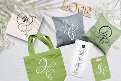 Love Story Monogram Font Product Image 4