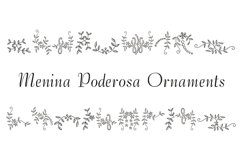 Menina Poderosa Ornaments Product Image 1