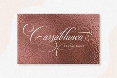 Switzerland Elegant Stylish Calligraphy Script Product Image 4