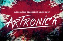 Artronica - Future Art Font Product Image 1